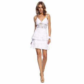 Vestido Fabulous Agilitá Renda Guipir Curto