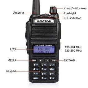 Radio De Doble Banda Baofeng Uv-82 Vhf/uhf Ya Programado Dhl