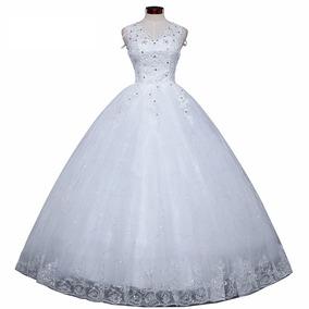 Vestido De Noivas Vestidos De Novia Plus Size Com Decote