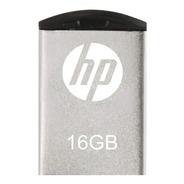 Pendrive Hp V222w 16gb 2.0 Metal Flash Drive Retractil Pc