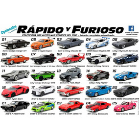 Rápido Y Furioso Modelos 3 Y 7 Al 14 La Nación Quilmes