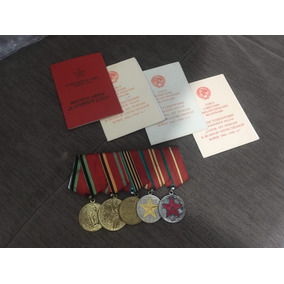 Medalhas União Soviética