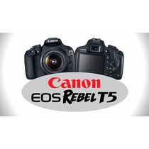Camara Canon Eos Rebel T5 1200d Kit 18-55 Full Hd 18mpx