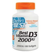 Vitamina D 2000 Iu 100% Original 180 Gel (envío Gratis)