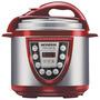 Panela Pressão Elétrica Mondial 5l Pe12 Vermelha/prata 220v