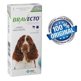 Bravecto Anti Pulgas E Carrapatos Para Cães De 10kg A 20kg