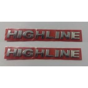 Par Emblema Highline Fox Gol Voyage Golf Spacefox Volkswagen