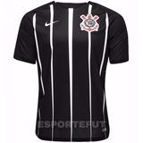 Camisa Nike Corinthians 2017 2018 Original Preta Listrada Es