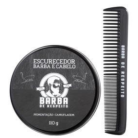 Barba De Respeito Escurecedor De Barba-bálsamo Ton. 110g