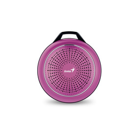 Parlante Bluetooth Recargable Genius Sp-906bt Plus Magenta