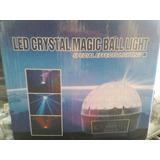 Bola Mágica De Cristal Led Sl Prolighting Dmx Audio Ritmica