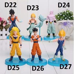 Bonecos Dragon Ball Z Goku Freza Naruto Super Mario Cada
