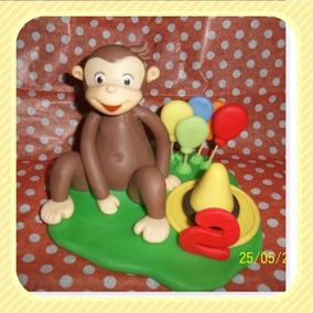 Adorno Torta Jorge El Curioso El Mono Jorge Primer Añito