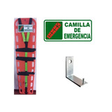 Camilla Plástica Emergencia C/arnés + Señal + Gancho Gratis