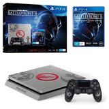 Sony Playstation 4 Super Slim 1tb Star Wars Battlefront 2