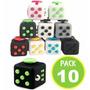 Pack 10 Cubo Cube Fidget Antiansiedad Niño / Fernapet
