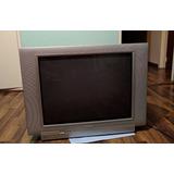 Televisor Philips 25 Pulgadas Pantalla 55cm X 41cm De Alt