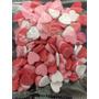 Pastillaje Enamorados, San Valentin, Corazones Comestibles