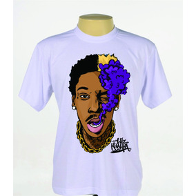 Camiseta Camisa Cantor Rapper Rap Hip Hop Wiz Khalifa