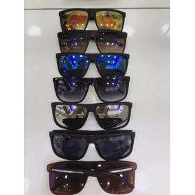 Óculos De Sol Unissex Quadrado Grande Escuro E Espelhado