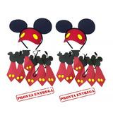 Kit Festa Com 40 Pecas Mickey E Minnie