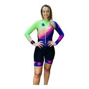 Macaquinho Ciclismo Feminino Elite Pisique Ml