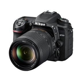 Nikon D7500 Kit 18-140mm. Af-s Vr G Dx + Garantía Extendida