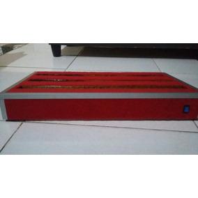 Pedal Board Em Madeira E Aluminio ,barato