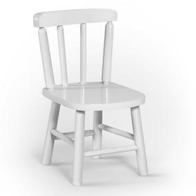 Cadeira Infantil Em Madeira Maciça Disamóveis Com Acabamento