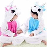 Pijama Kigurumi Unicornio Para Niños/as Envios Gratispromo!!