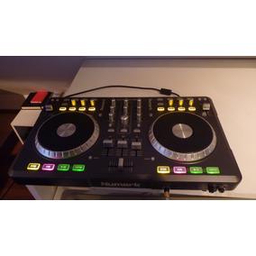 Numark Mixtrack Pro Poco Uso Sin Detalles Incluye Tarjeta