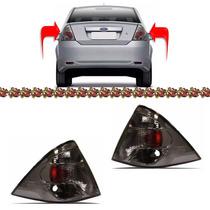 Par Lanterna Traseira Fiesta Sedan 2010 2011 2012 2013