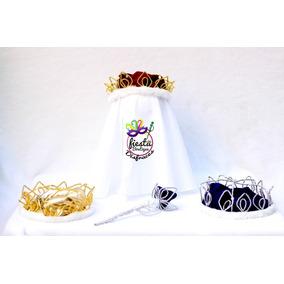 Corona Con Cetro Para Disfraz Rey Principe Reyes Magos