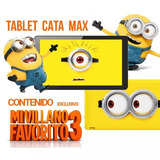 Tablet 10 Kanji Cata Max Minion Quad Core Ips Android 6.0