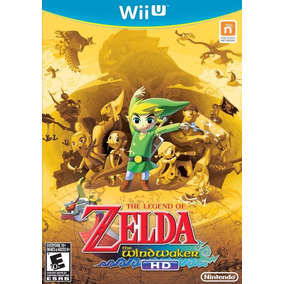 The Legend Of Zelda The Windwaker Hd - Wii U.