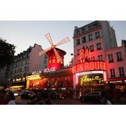 Cuadro 15-moulin-rouge-paris-2  32x20  C/marco De Madera