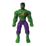 Boneco Super Herói Hulk Com Luz 40 Cm Atacado Oferta.