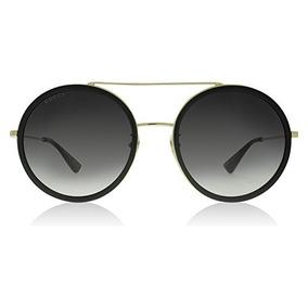 7be5a31d8e Gucci 0061s 001 Gold 0061s Gafas De Sol Redonda Lente Categ