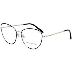eca221f6872df Óculos Dolce Gabbana Eyeglasses Dg 1223 01 Black 58mm - Óculos no ...
