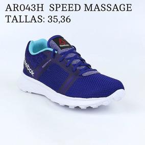 Zapatillas Reebok Masajeadora Purpura 36/ Azul 36