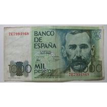 Espanha: Bela Cédula De 1000 Pesetas 1979 - Escassa Oferta