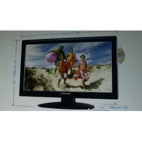 Navidad Combo Tv Dvd Hdtv 22 Lcd Monitor Sint Digital Polaro