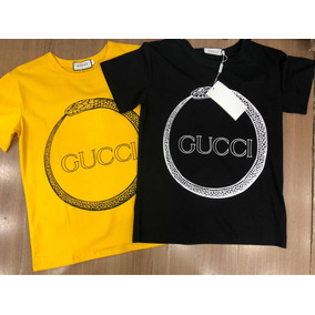 Camiseta T-shirt Gucci Feminina Original Feito Na Itália. São Paulo · Camiseta  Gucci Feminina Original 6ea99d016dd95