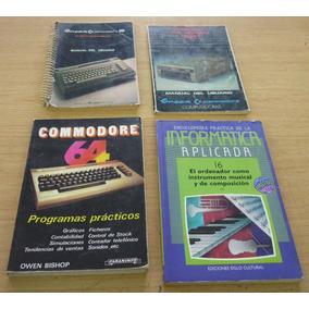 Commodore C64 - Colección Libros Editoriales Varias 2