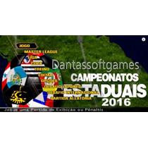 Play 2 - Bomba Patch 2016 Estaduais ! 180 Clubes Do Brasil