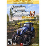Farming Simulator 15 Gold Edition + Pack De Tratores Confira