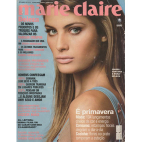 Revista Marie Claire Set. 2005 - Isabeli Fontana
