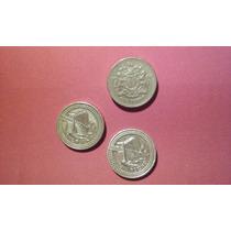Moedas De One Pound Anos De 1983 ,2004
