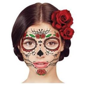 Catrina Tatuaje Temporal Dia De Muertos