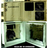 Caja X10unid Ladrillos De Vidrio Modelo Nube Origen Checos!